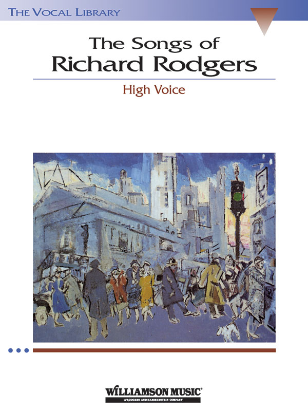 The Songs Of Richard Rodgers: Vocal and Piano: Mixed Songbook