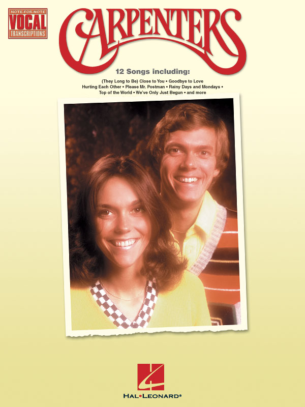 Carpenters: Carpenters: Vocal Solo: Artist Songbook