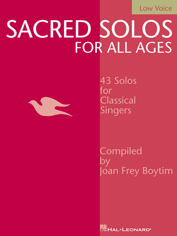 Sacred Solos for All Ages - Low Voice: Vocal Solo: Vocal Collection