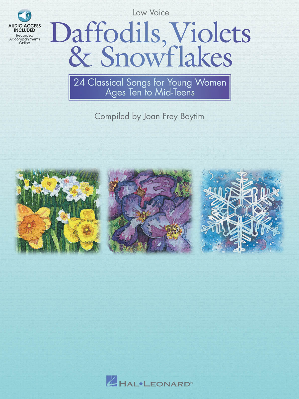 Joan Frey Boytim: Daffodils  Violets and Snowflakes - Low Voice: Vocal Solo: