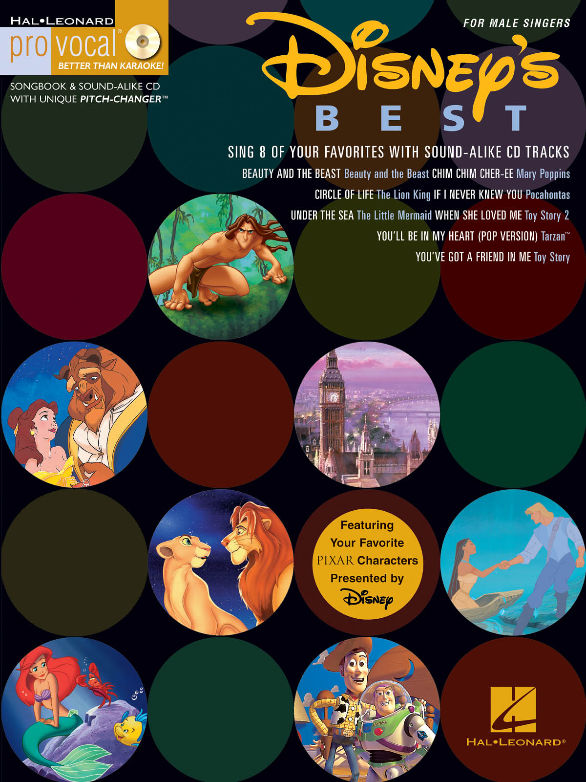 Disney's Best: Melody  Lyrics and Chords: Vocal Album