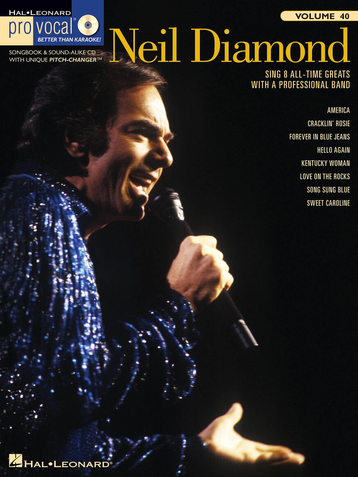 Neil Diamond: Neil Diamond: Melody  Lyrics and Chords: Vocal Album