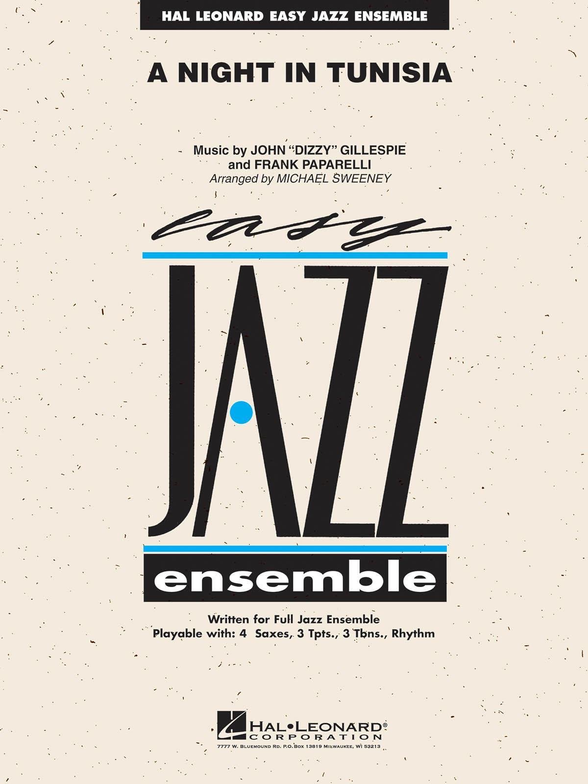 Dizzy Gillespie: A Night in Tunisia: Jazz Ensemble: Score and Parts