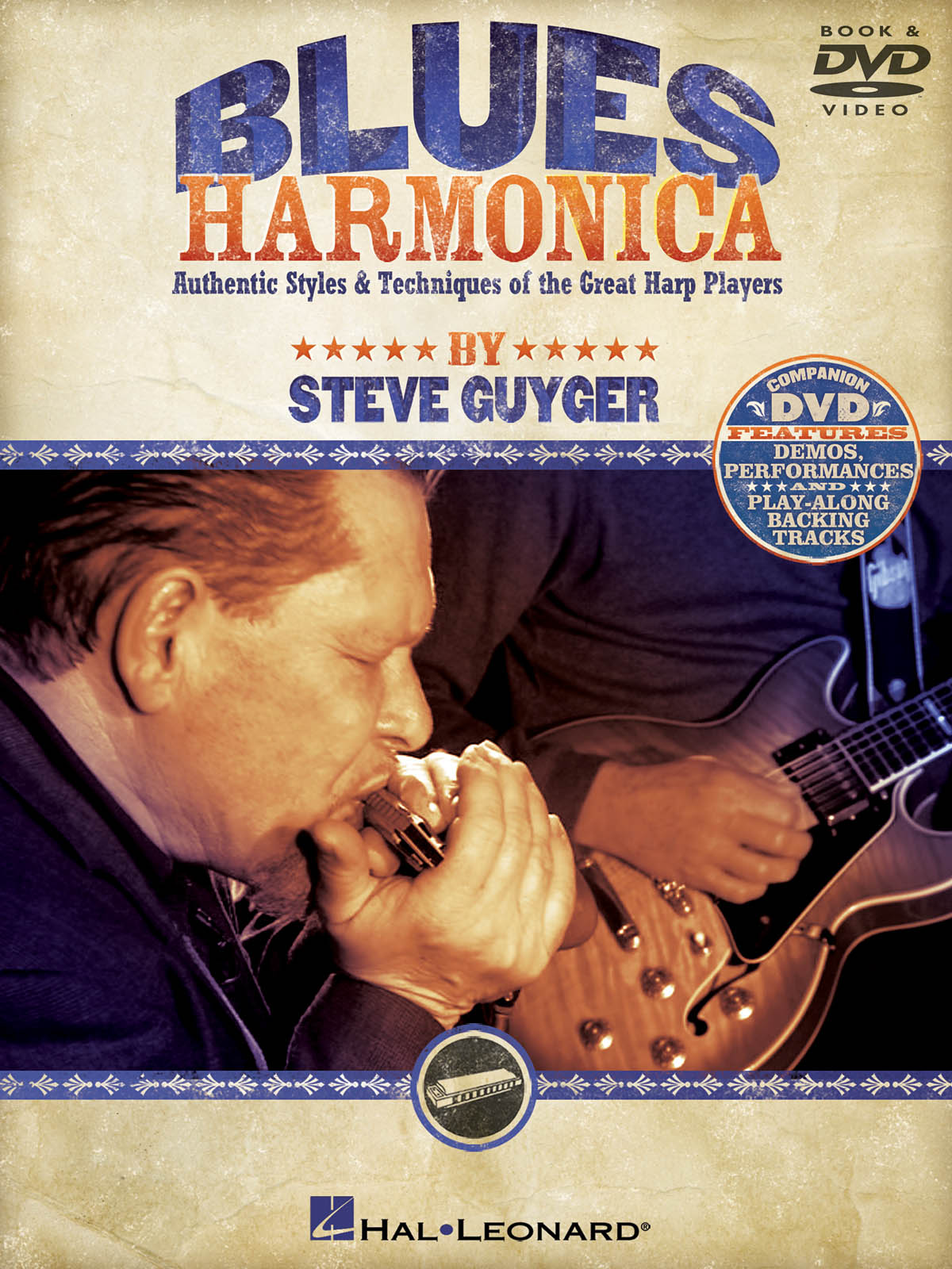 Steve Guyger: Blues Harmonica (Hal Leonard)