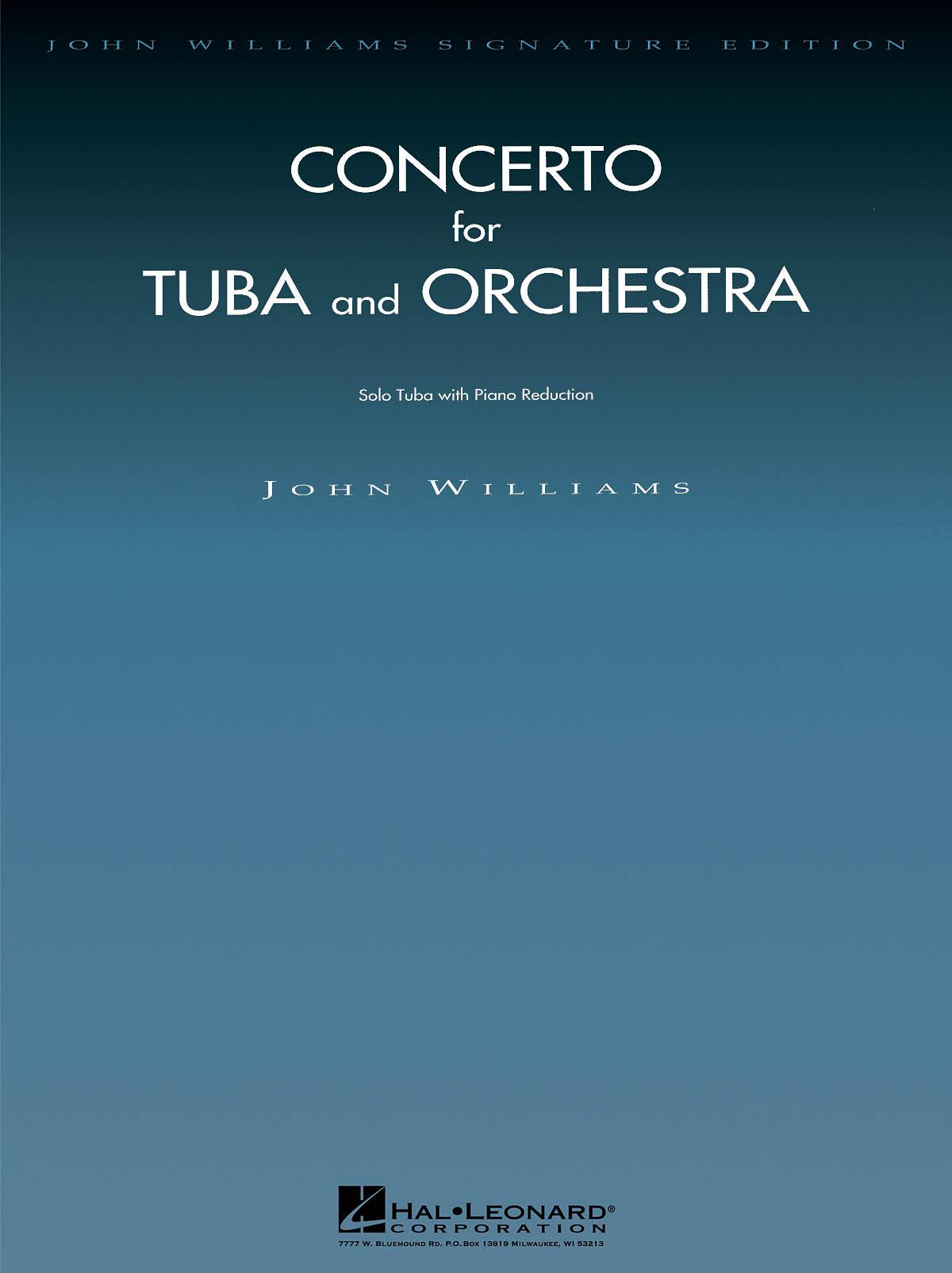 John Williams: Concerto for Tuba and Orchestra: Tuba Solo: Instrumental Work