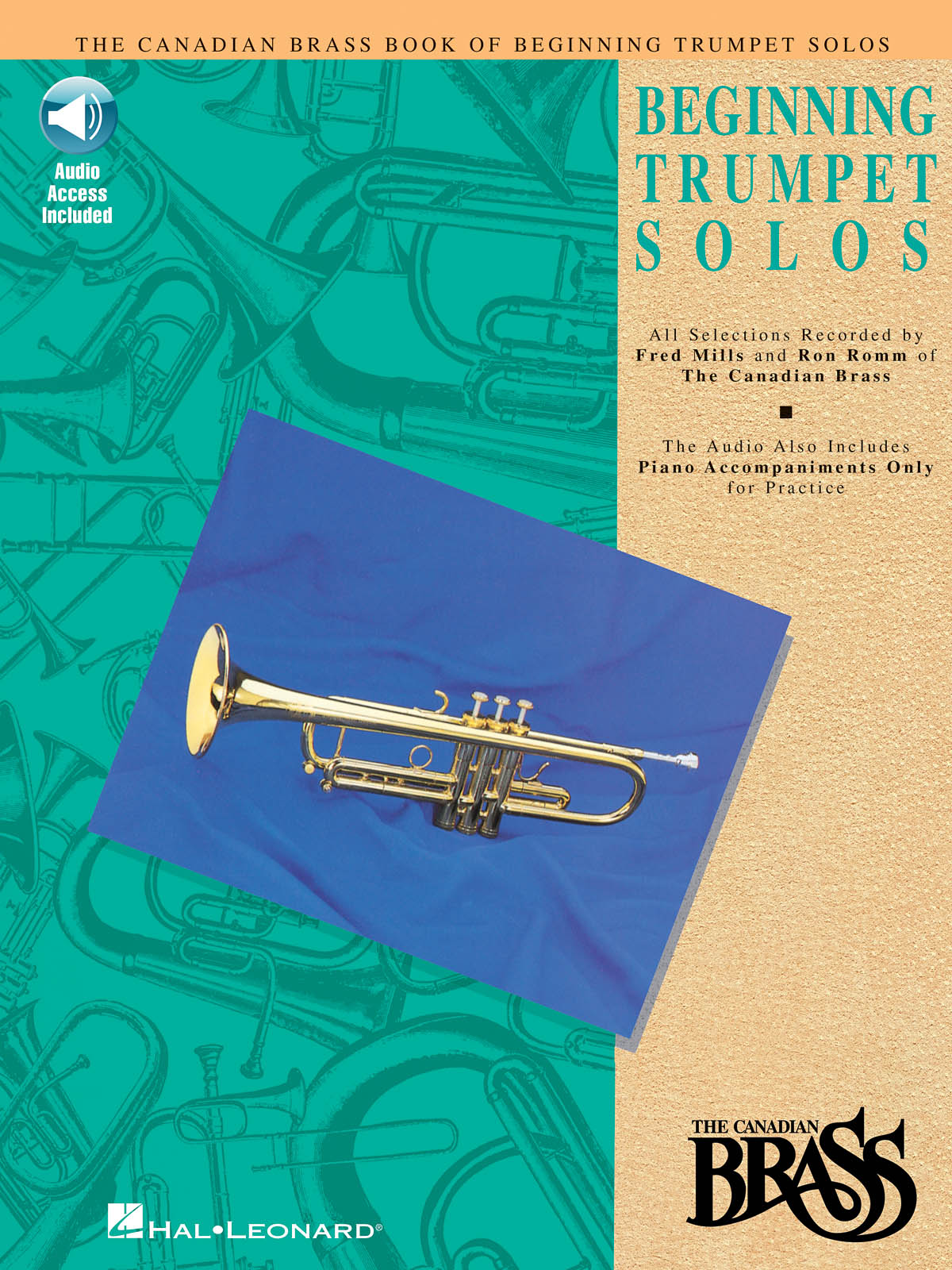 The Canadian Brass: Canadian Brass Book Of Beginning Trumpet Solos: Trumpet