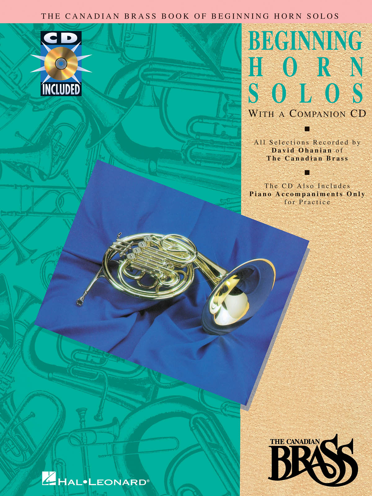 The Canadian Brass: Canadian Brass Book Of Beginning Horn Solos: French Horn