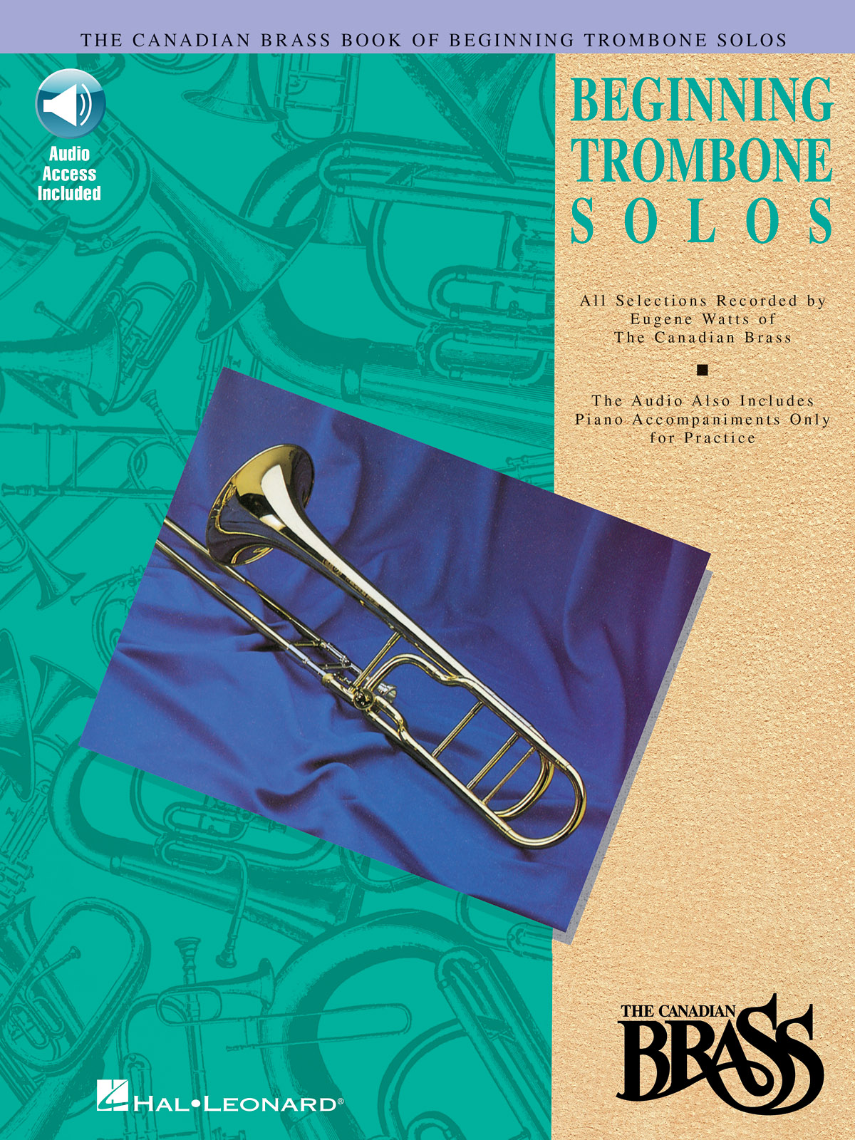 The Canadian Brass: Canadian Brass Book Of Beginning Trombone Solos: Trombone