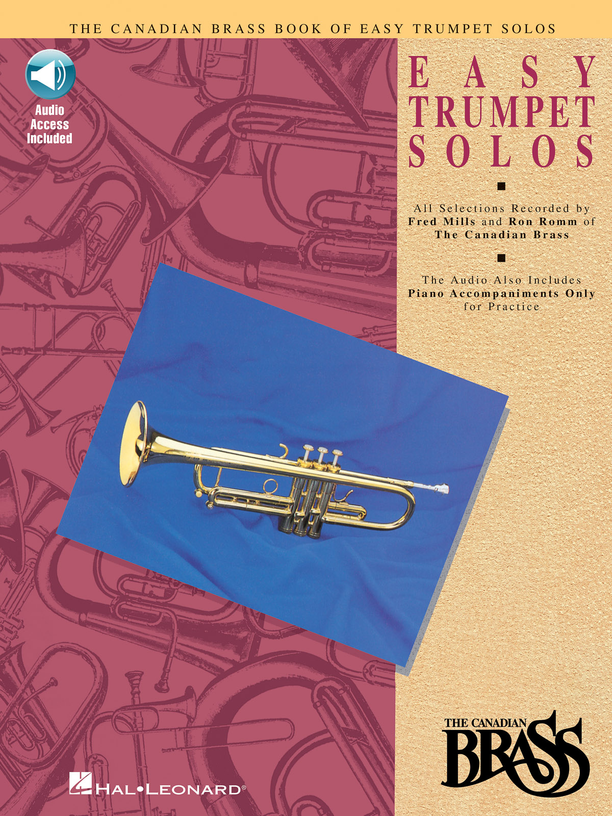 The Canadian Brass: Canadian Brass Book of Easy Trumpet Solos: Trumpet Solo: