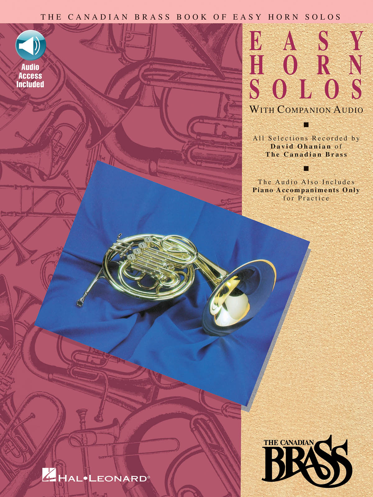 The Canadian Brass: Canadian Brass Book Of Easy Horn Solos: French Horn Solo: