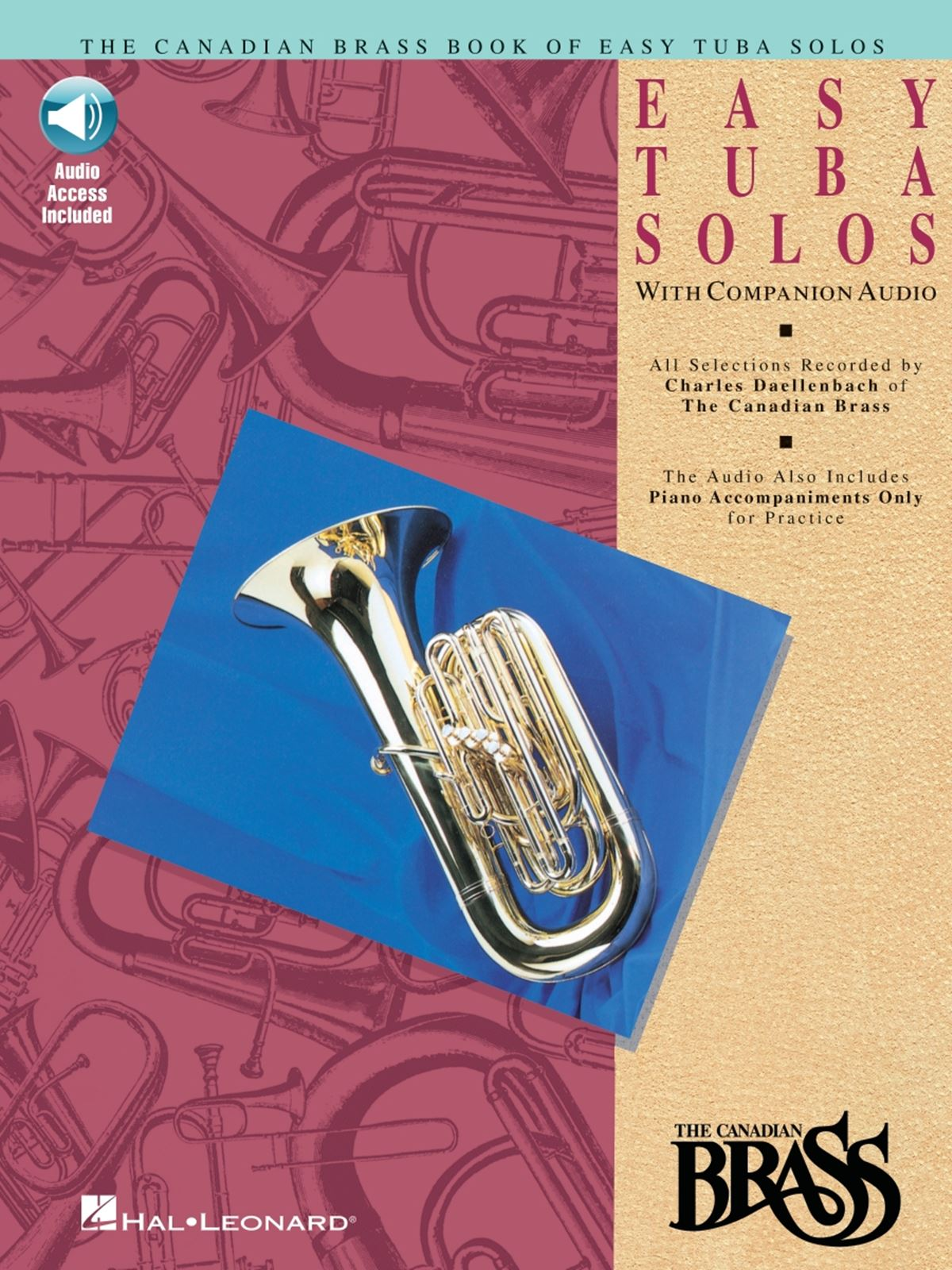 The Canadian Brass: Canadian Brass Book Of Easy Tuba Solos: Tuba Solo:
