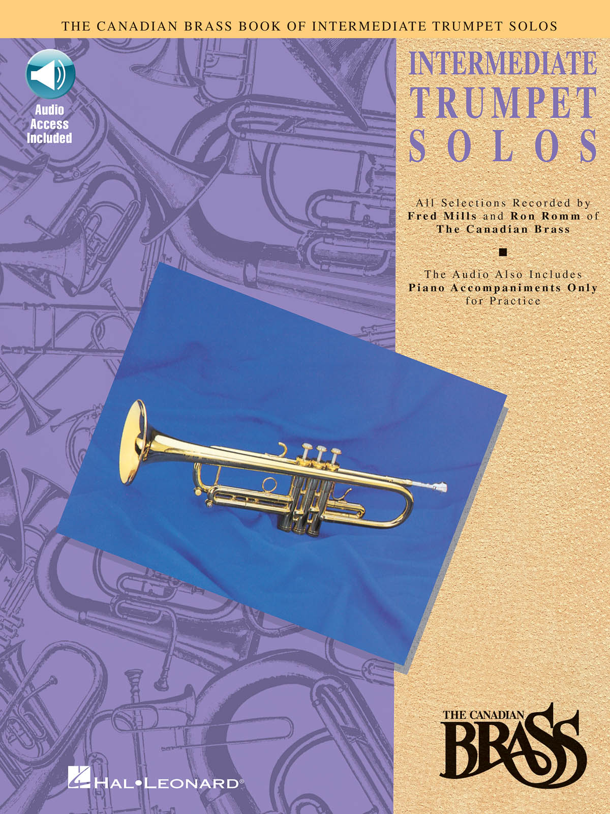 The Canadian Brass: Canadian Brass Book Of Intermediate Trumpet Solos: Trumpet