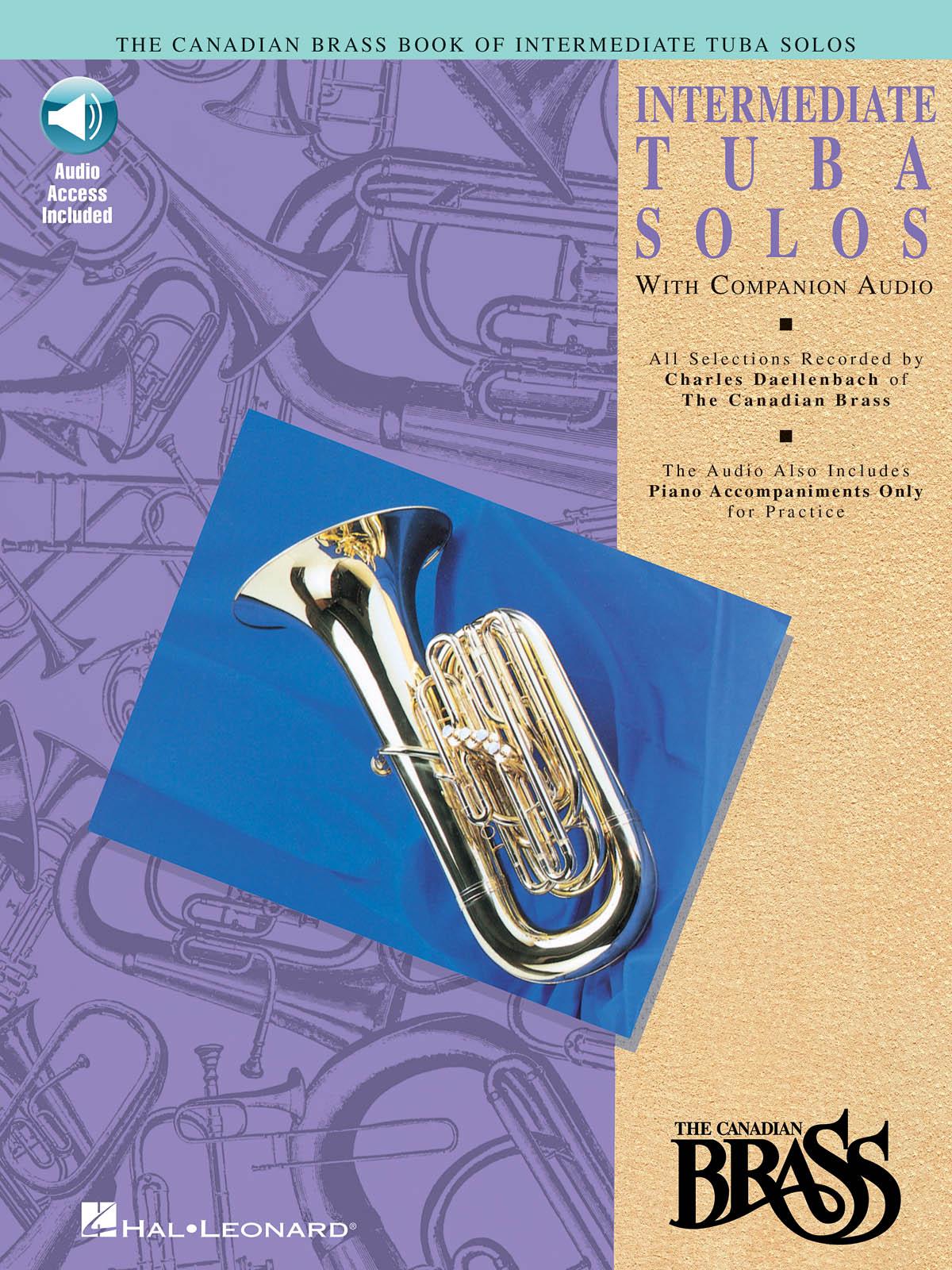 The Canadian Brass: Canadian Brass Book Of Intermediate Tuba Solos: Tuba Solo: