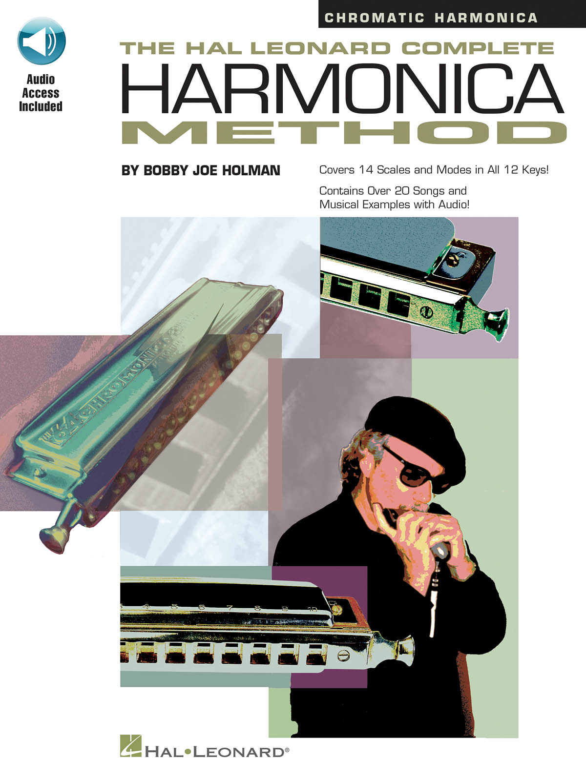 Bobby Joe Holman: Complete Harmonica Method - Chromatic: Harmonica: Instrumental