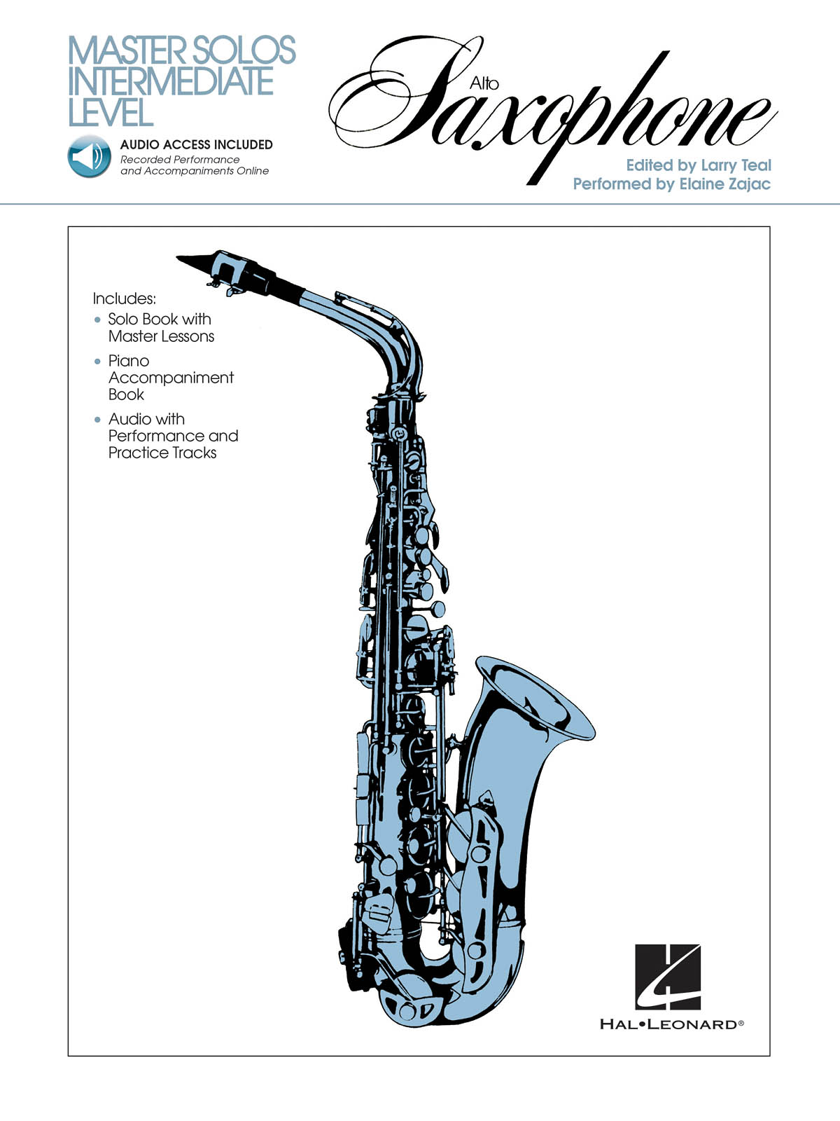 Master Solos Intermediate Level - Alto Sax: Alto Saxophone: Instrumental Work