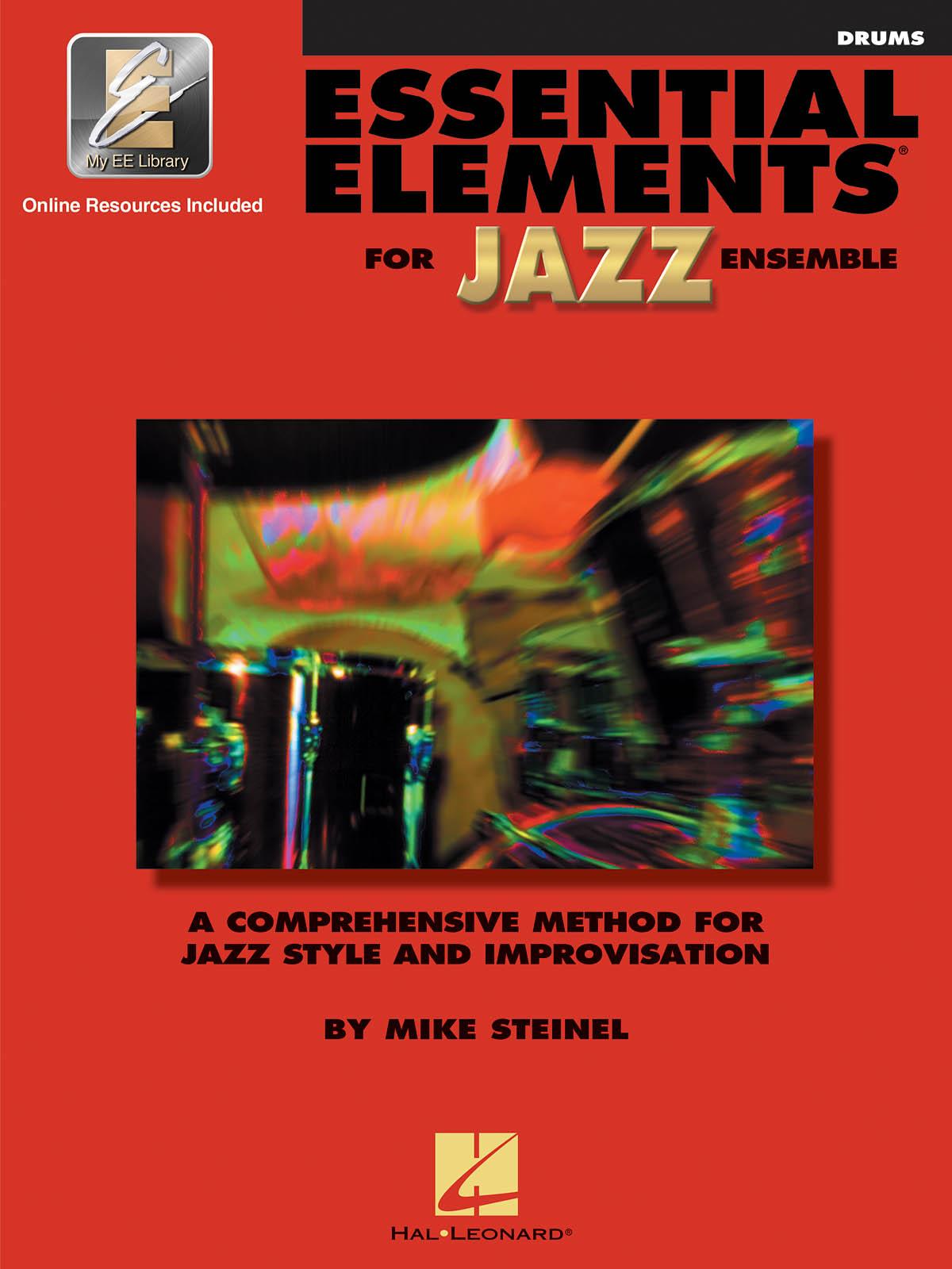 Essential Elements for Jazz Ensemble (Drums): Jazz Ensemble: Book & Audio