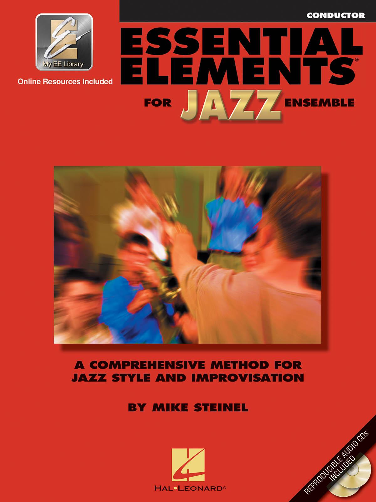 Essential Elements for Jazz Ensemble (Conductor): Jazz Ensemble: Book & Audio