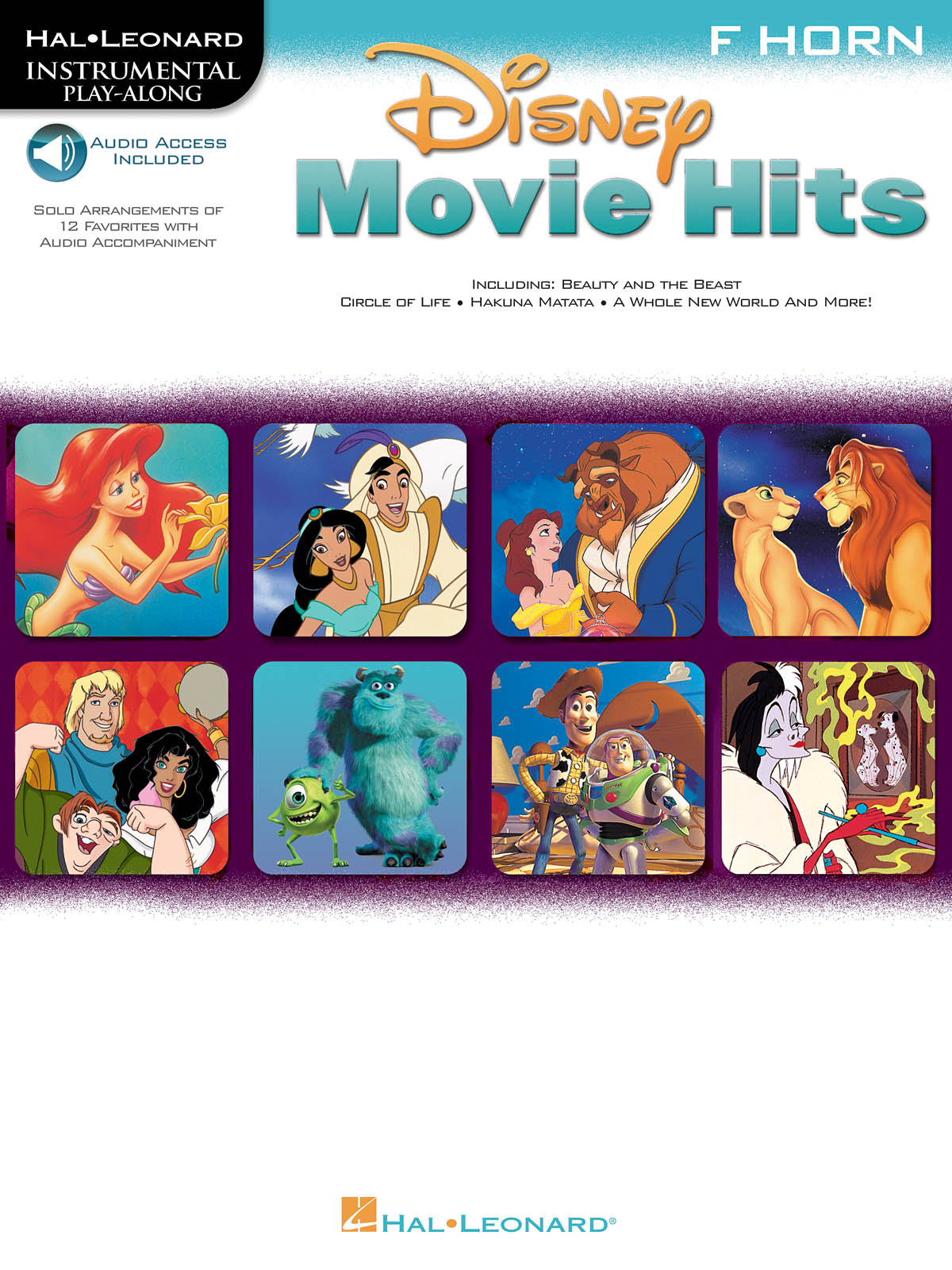 Disney Movie Hits - Horn in F: French Horn Solo: Instrumental Album