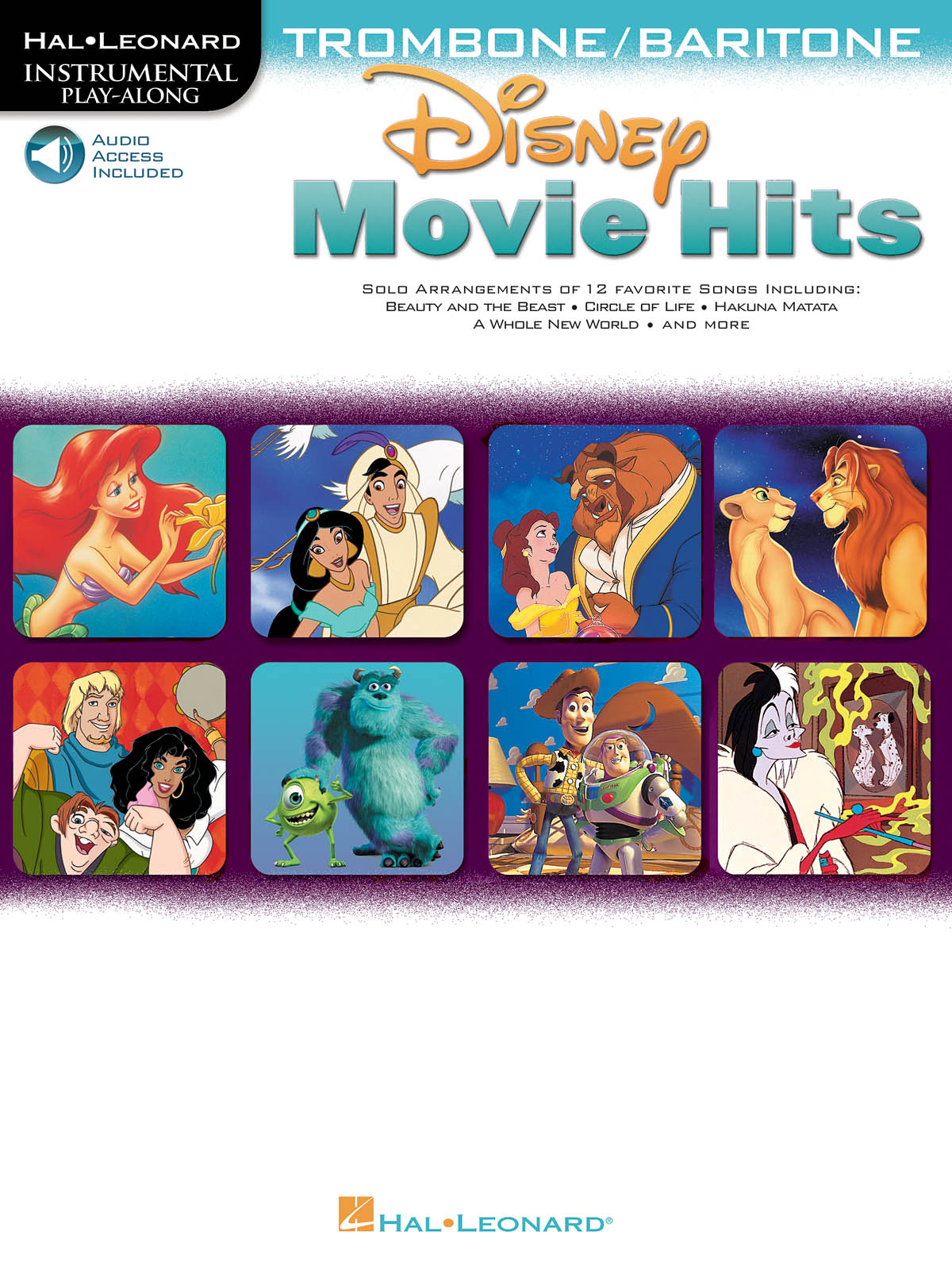 Disney Movie Hits - Trombone/Baritone: Trombone Solo: Instrumental Album