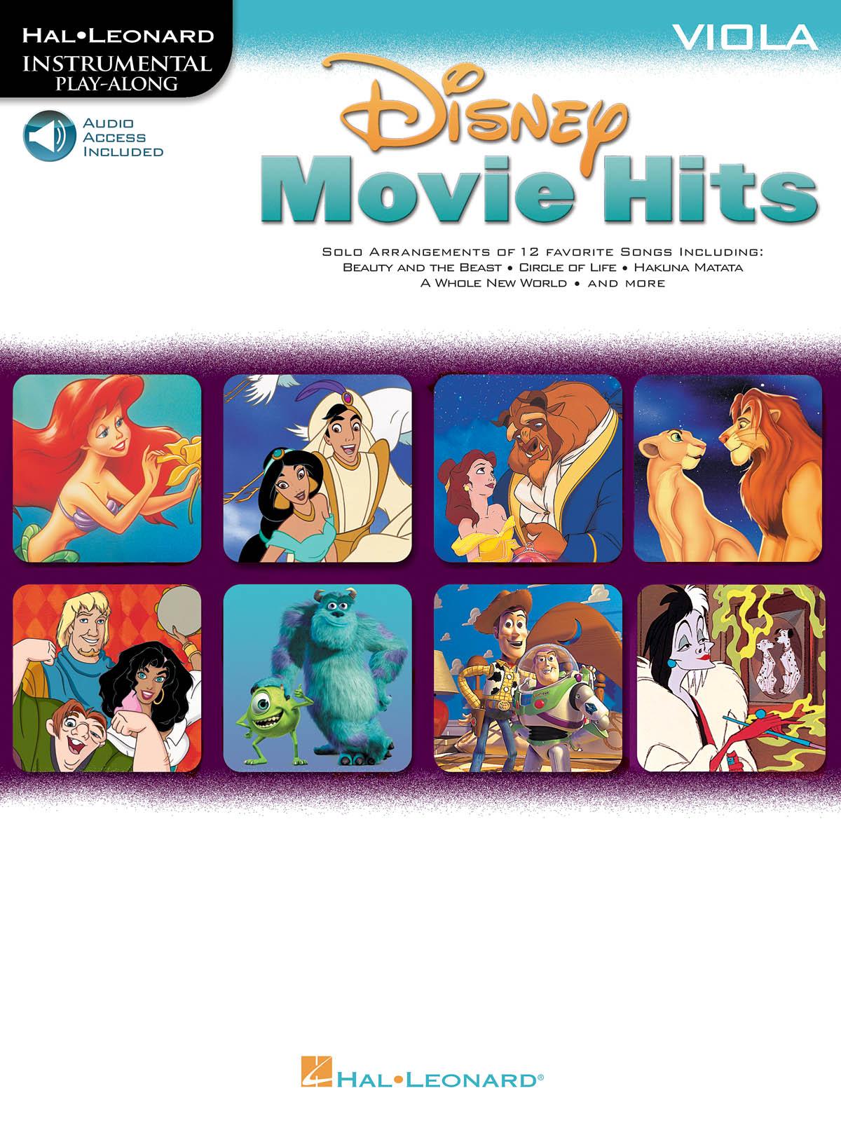 Disney Movie Hits - Viola: Viola Solo: Instrumental Album