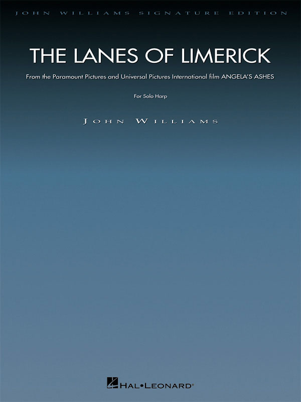 John Williams: The Lanes of Limerick (from Angela's Ashes): Harp Solo: