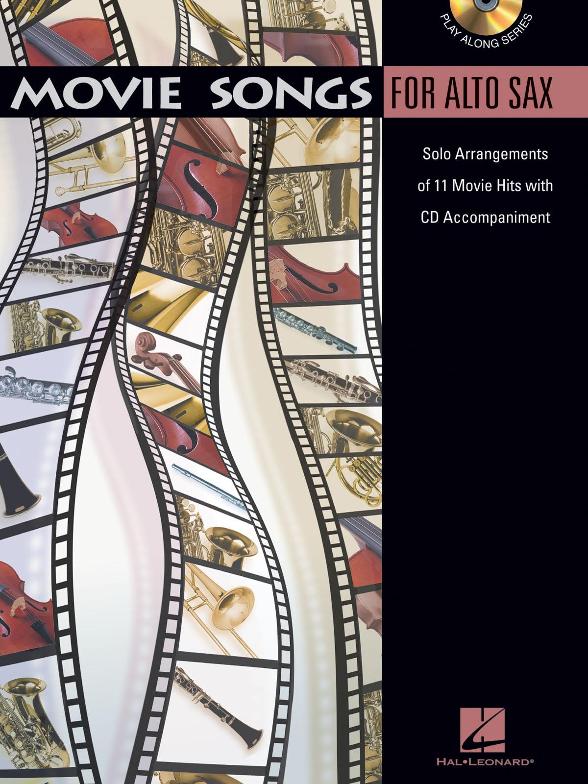 Movie Songs - Alto Saxophone: Alto Saxophone: Instrumental Album