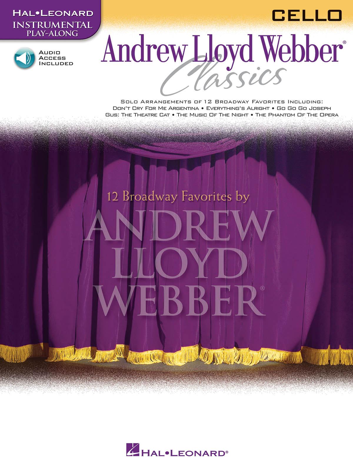 Andrew Lloyd Webber: Andrew Lloyd Webber Classics - Cello: Cello Solo: