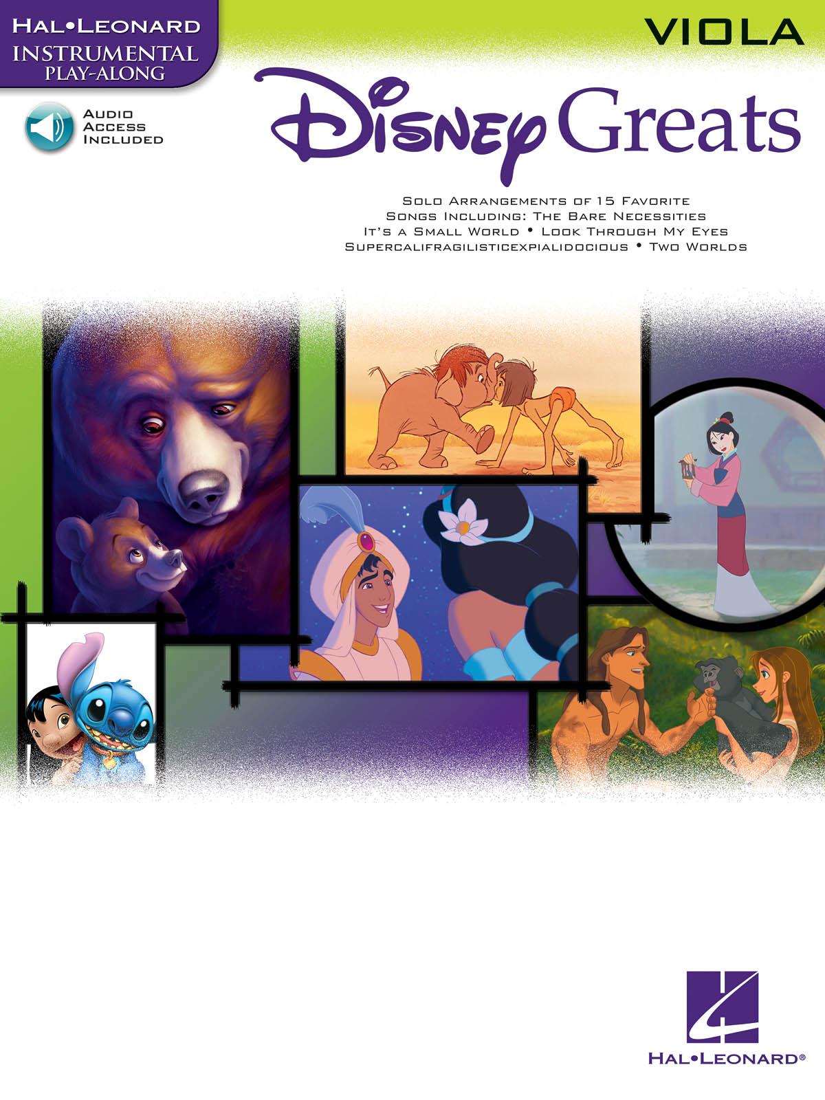 Disney Greats - Viola: Viola: Instrumental Album