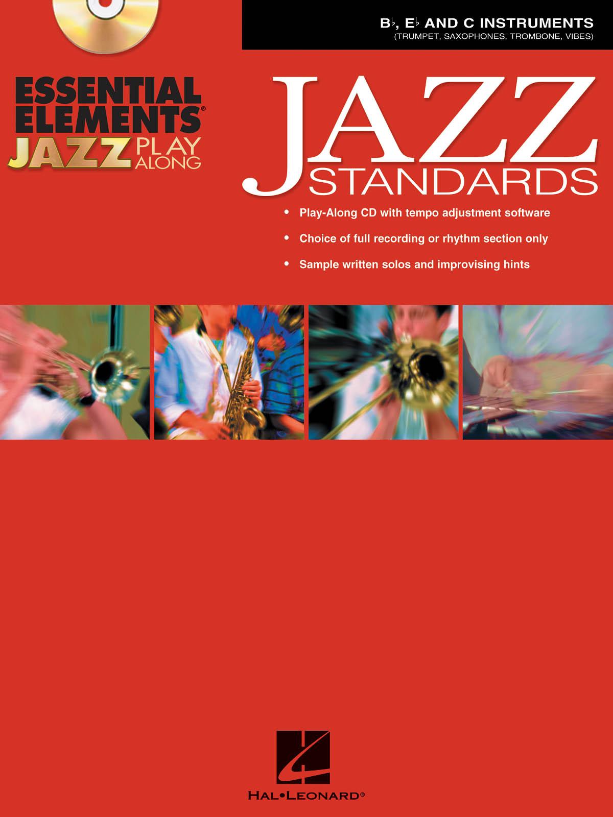 Essential Elements Jazz Play-Along -Jazz Standards: Jazz Ensemble: Instrumental