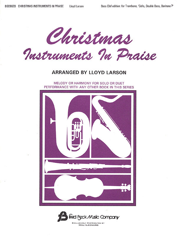 Christmas Instruments In Praise (BC): Bass Instrument: Part
