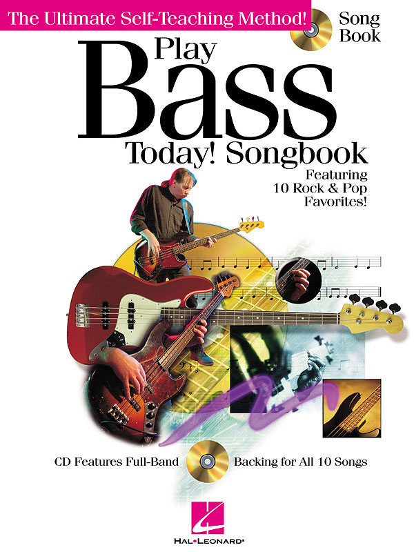 Play Bass Today! Songbook: Bass Guitar Solo: Instrumental Album