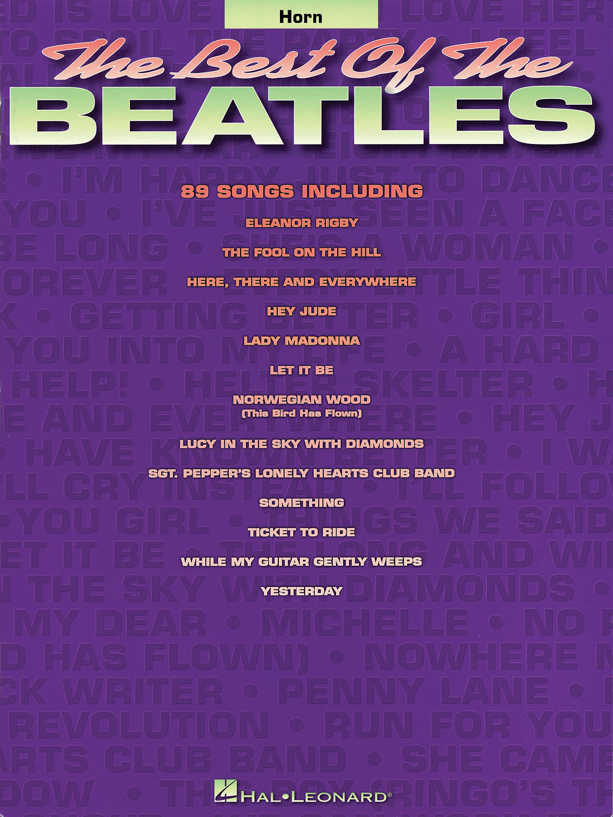 The Beatles: Best of the Beatles for French Horn: French Horn Solo: Instrumental
