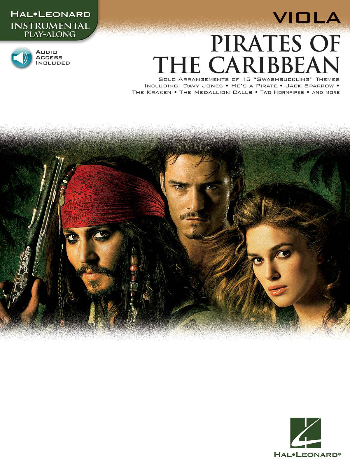 Klaus Badelt: Pirates of the Caribbean - Viola: Viola: Instrumental Album