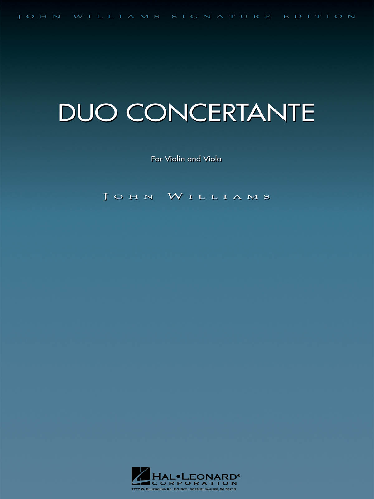 John Williams: Duo Concertante: Mixed String Duet: Instrumental Album