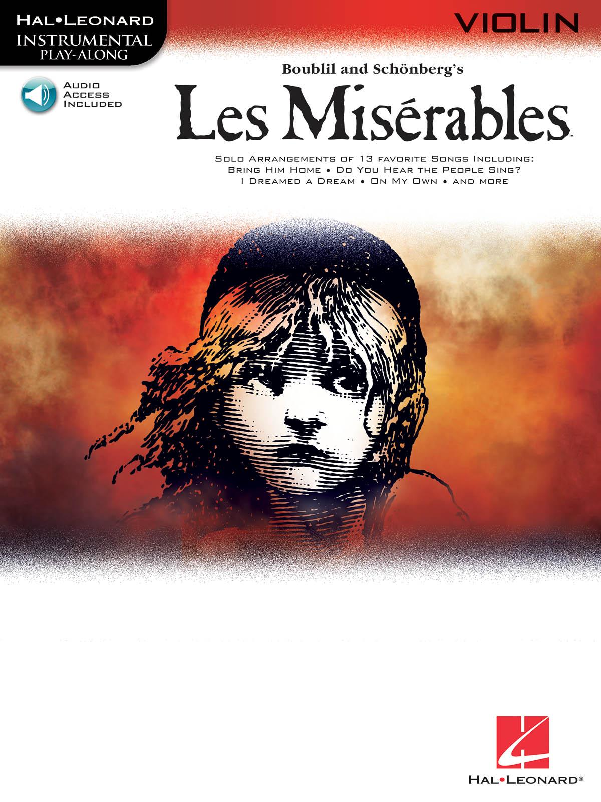 Alain Boublil Claude-Michel Schönberg: Les Miserables: Violin Solo: Instrumental