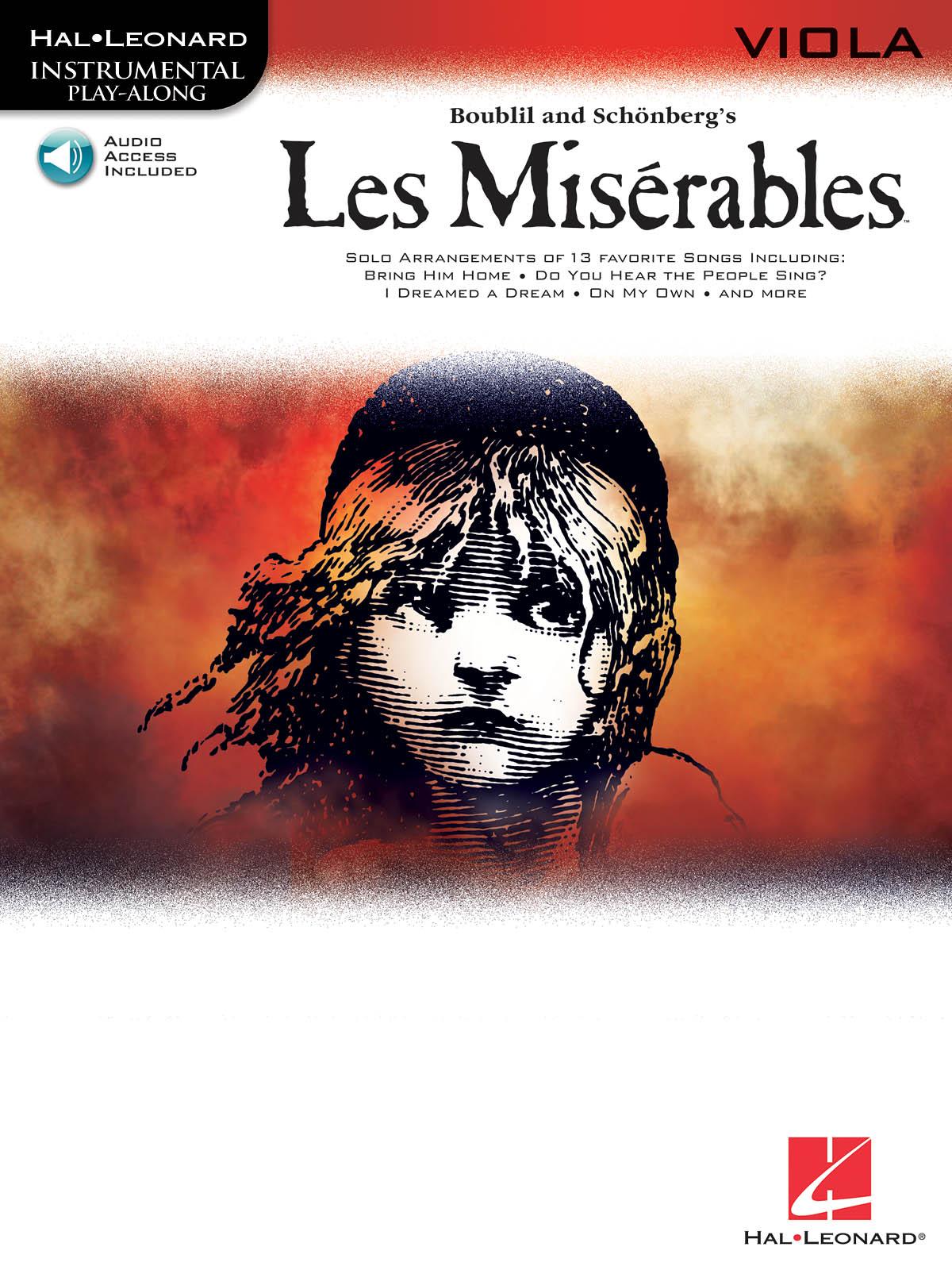 Alain Boublil Claude-Michel Schönberg: Les Miserables: Viola Solo: Instrumental