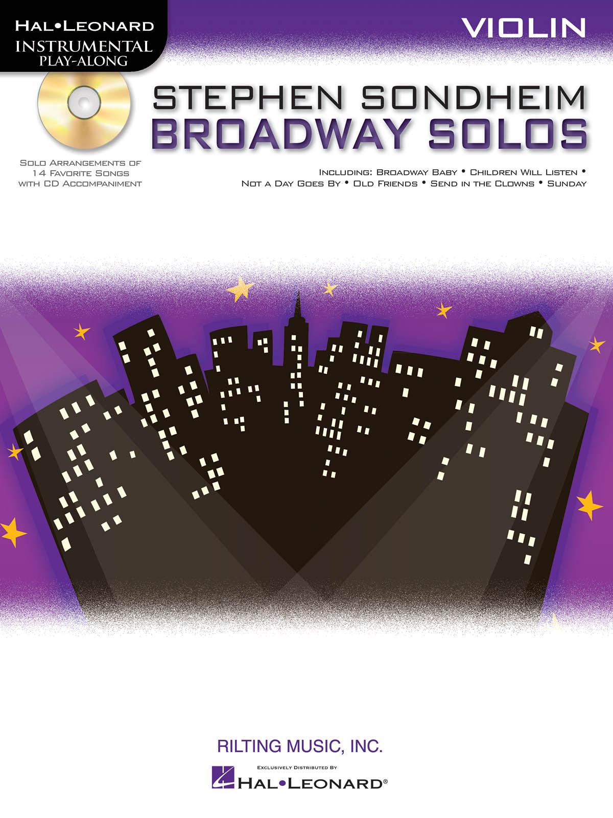 Stephen Sondheim: Stephen Sondheim - Broadway Solos: Violin Solo: Instrumental
