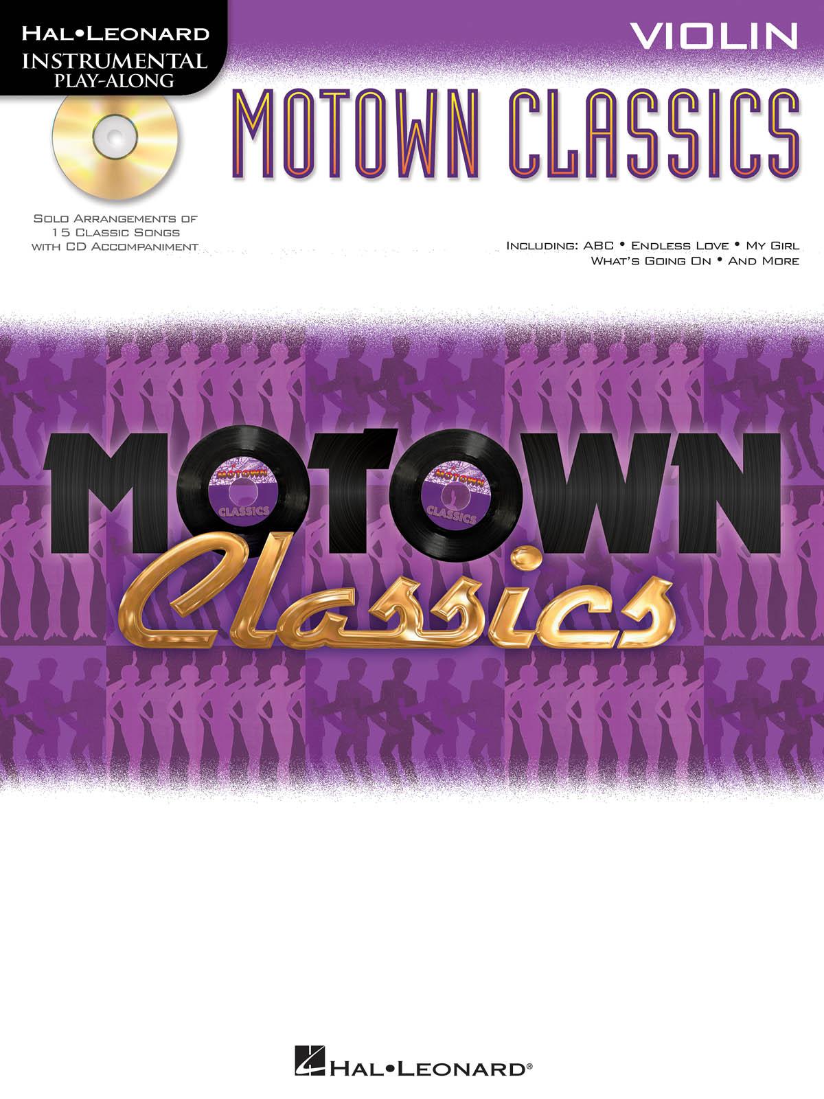 Motown Classics - Instrumental Play-Along Series: Violin Solo: Instrumental