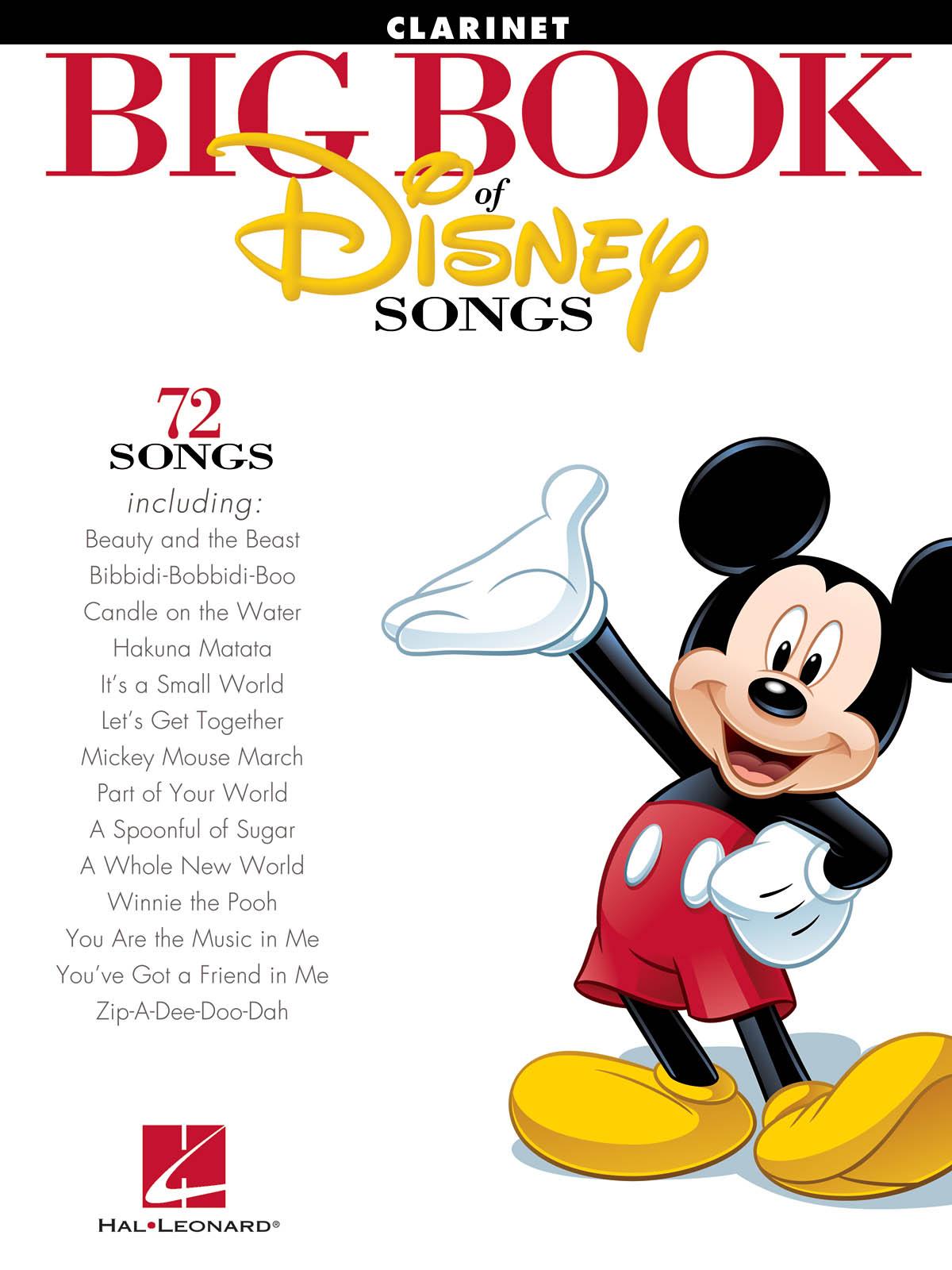 The Big Book of Disney Songs (Clarinet): Clarinet Solo: Instrumental Album