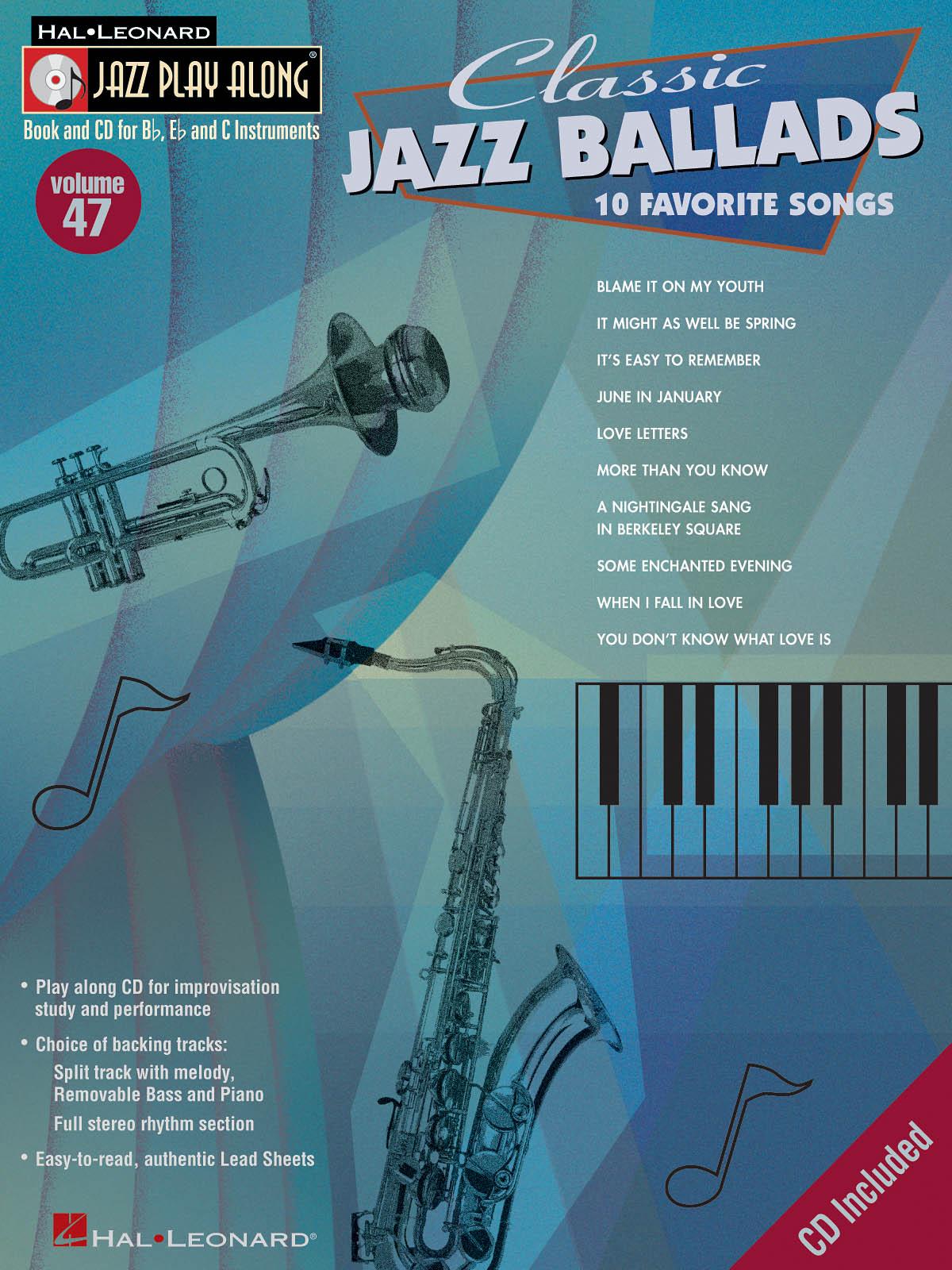 Classic Jazz Ballads: Jazz Ensemble: Instrumental Album