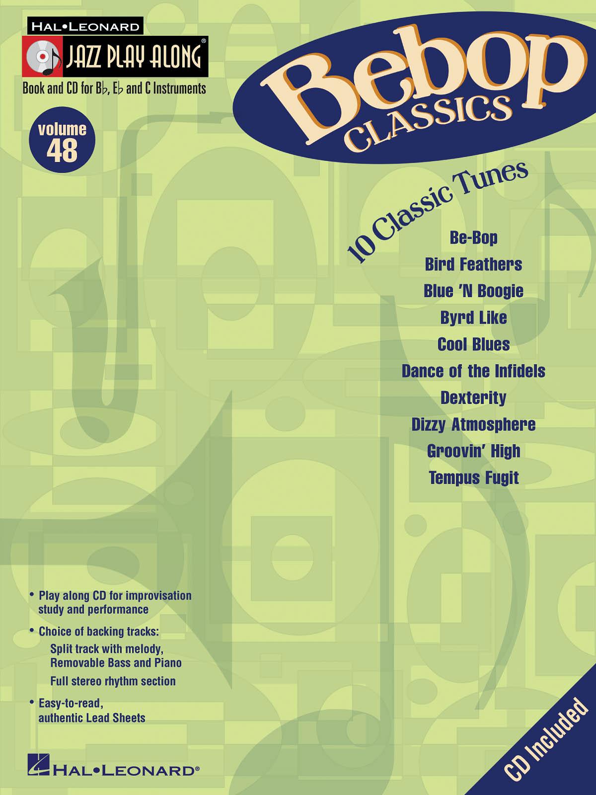 Bebop Classics: Any Instrument: Instrumental Album