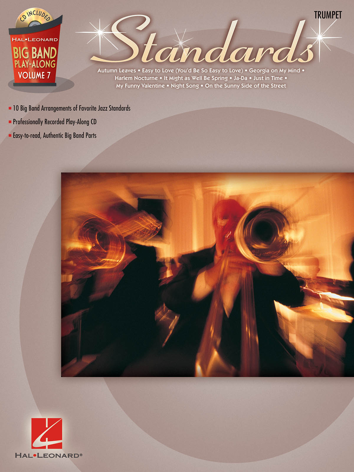 Standards: Big Band Play-Along Volume 7: Trumpet Solo: Instrumental Album