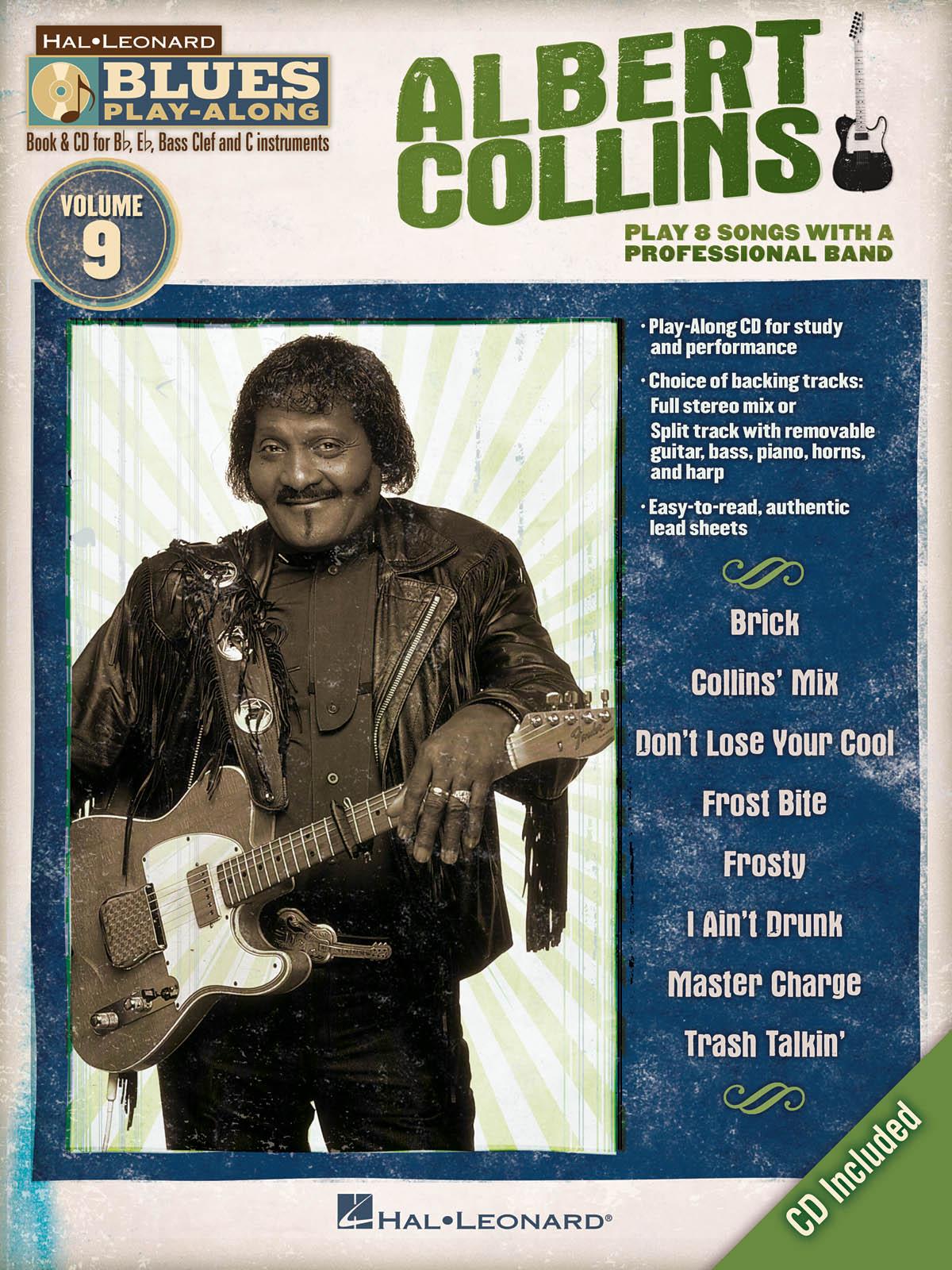 Albert Collins: Blues Playalong 009 (Albert): Jazz Ensemble: Instrumental Album