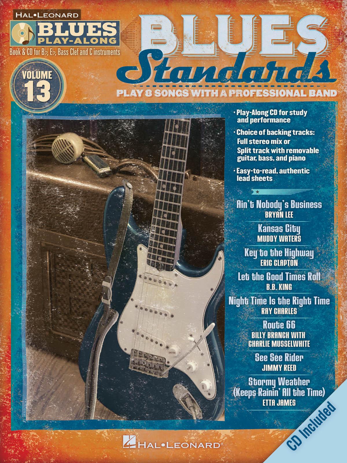Blues Standards: Jazz Ensemble: Backing Tracks