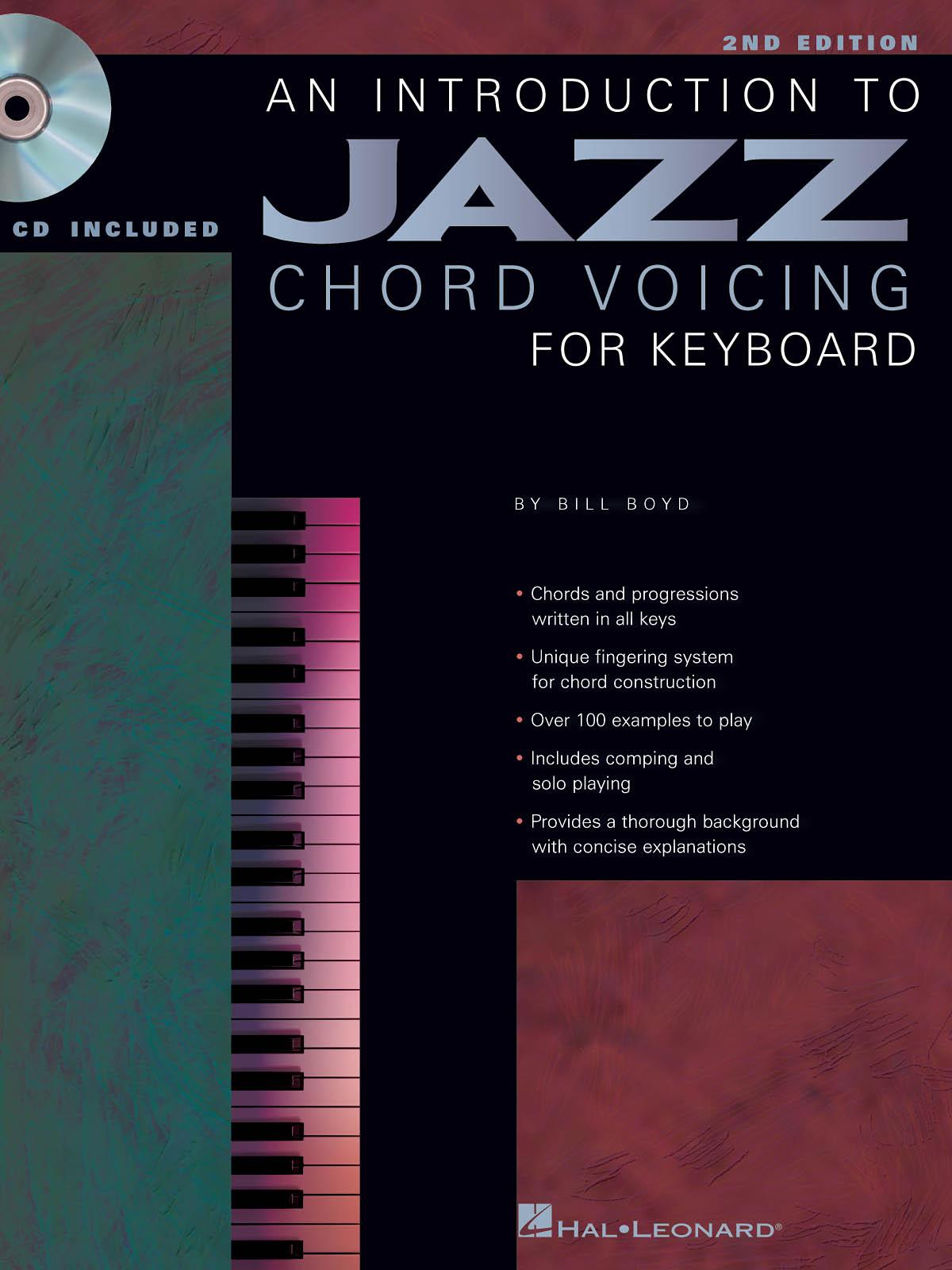 Bill Boyd: An Introduction To Jazz Chord Voicing: Keyboard: Instrumental Tutor
