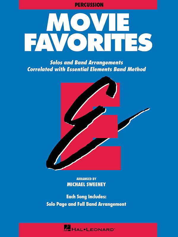 Essential Elements - Movie Favorites (Percussion): Concert Band: Part