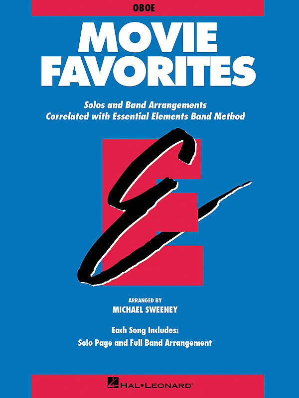 Essential Elements - Movie Favorites (Oboe): Concert Band: Part