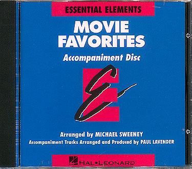 Essential Elements - Movie Favorites (CD): Concert Band: CD