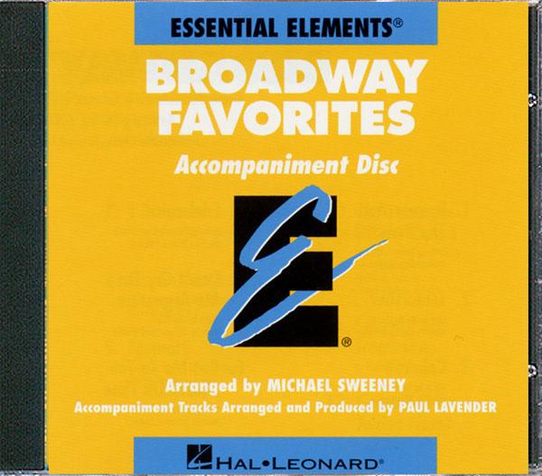 Essential Elements Broadway Favorites (CD): Concert Band: CD