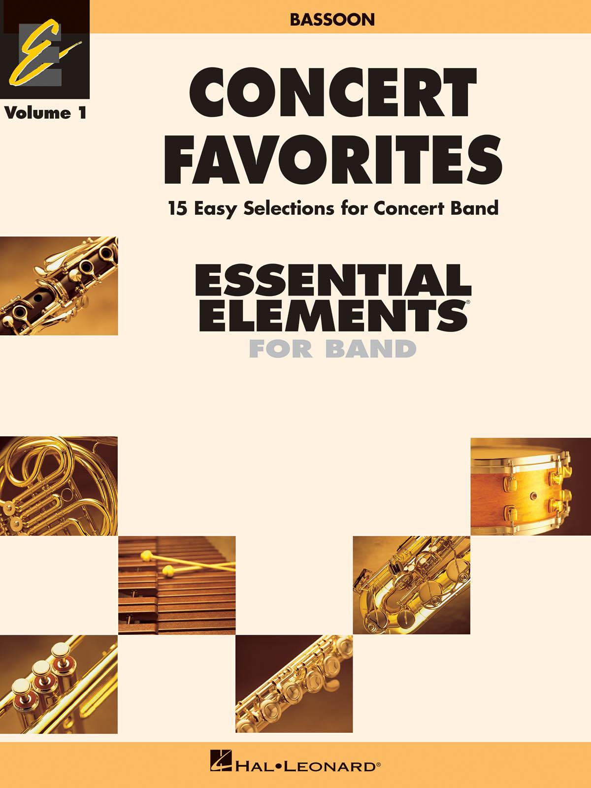 Concert Favorites Vol. 1 - Bassoon: Concert Band: Part